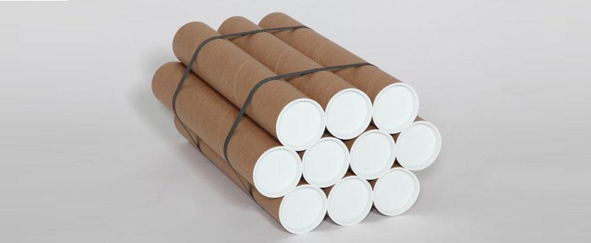 cardboard postal tubes