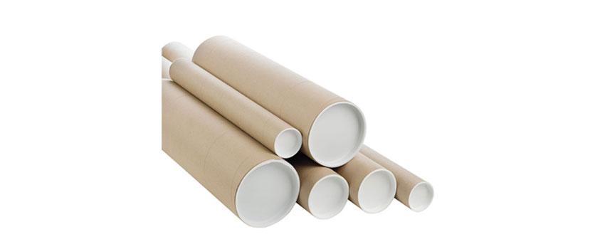 Cylinder postal tubes  Safe packaging